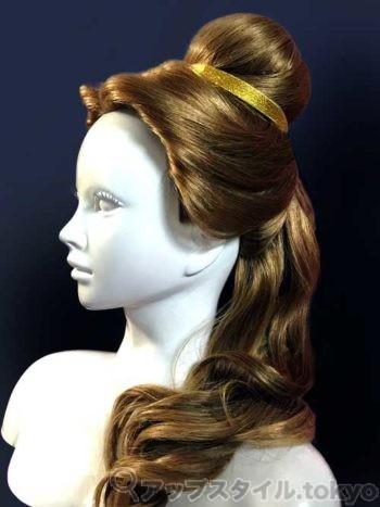 ベルの髪型の作り方解説の完成イメージです。