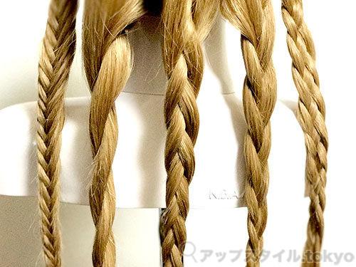 ヘアセットで使う編み方の種類