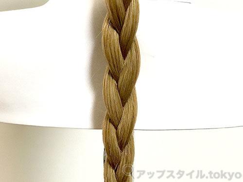 三つ編み(表編み)の画像