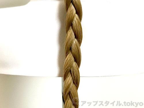 三つ編み(裏編み)の画像