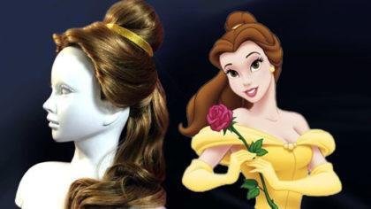アニメ版『美女と野獣』ベルの髪型の作り方
