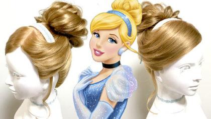『シンデレラ』シンデレラ風ヘアセット(髪型)の作り方
