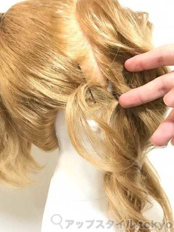 『ヘラクレス』メガラ(メグ)髪型の作り方