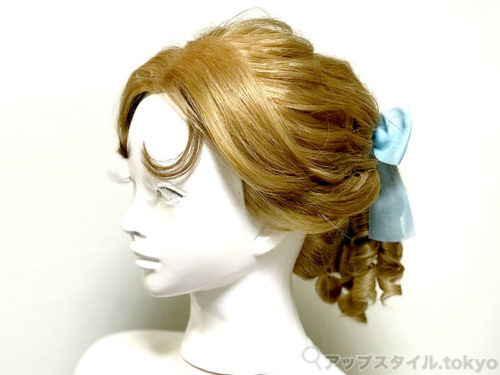 『ピーターパン』ウェンディ風ヘアアレンジ(髪型)
