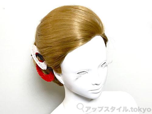 着物に合う和髪のシニヨン・髪型