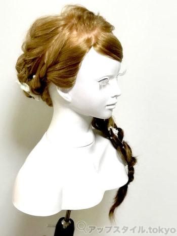 安室奈美恵さんの2017年、紅白の髪型アレンジ。斜め