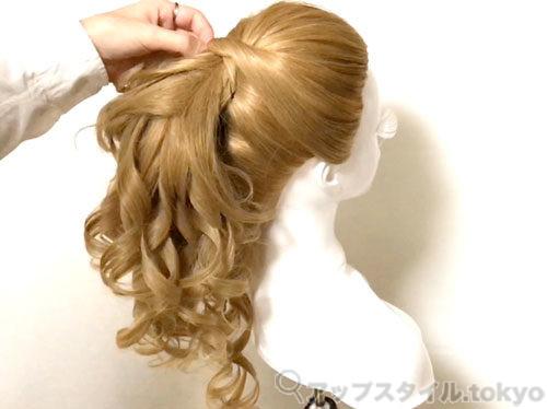 【安室奈美恵】2014年エスプリークCMの髪型の作り方解説3