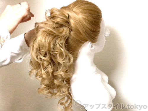 【安室奈美恵】2014年エスプリークCMの髪型の作り方解説4