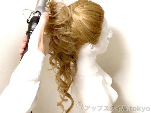 【安室奈美恵】2014年エスプリークCMの髪型の作り方解説6