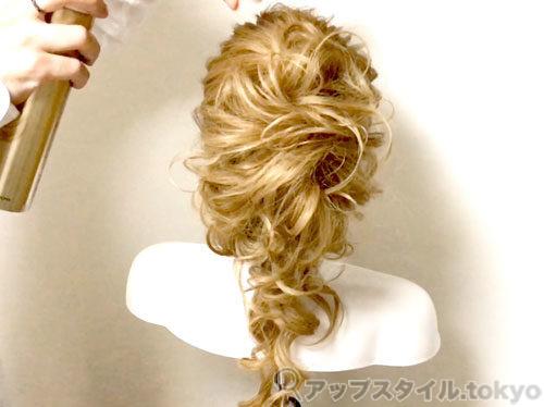【安室奈美恵】2014年エスプリークCMの髪型の作り方解説8