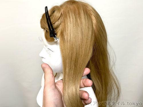 髪の巻き方&基礎知識、ブロッキングやスライスの厚さ