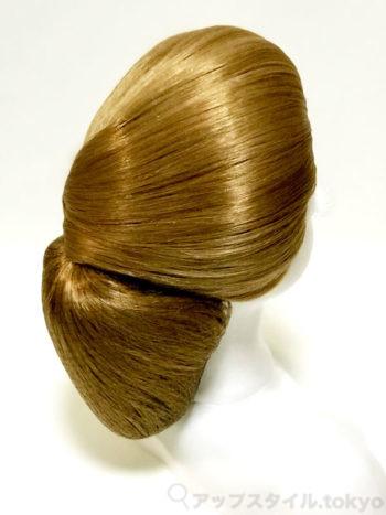 【極妻・髪型】岩下志麻風の和髪シニヨン、斜め
