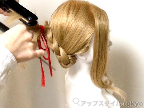 「君の名は。」三葉(みつは)の髪型・ヘアアレンジの作り方10