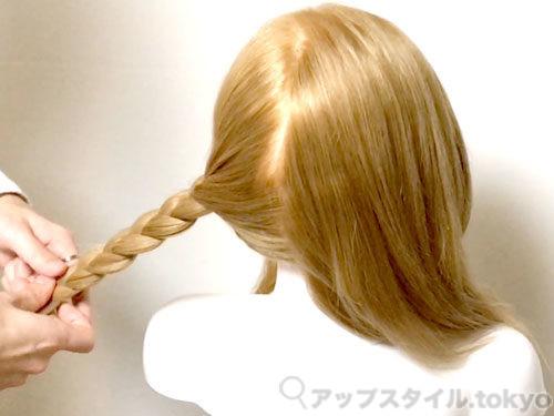 「君の名は。」三葉(みつは)の髪型・ヘアアレンジの作り方2