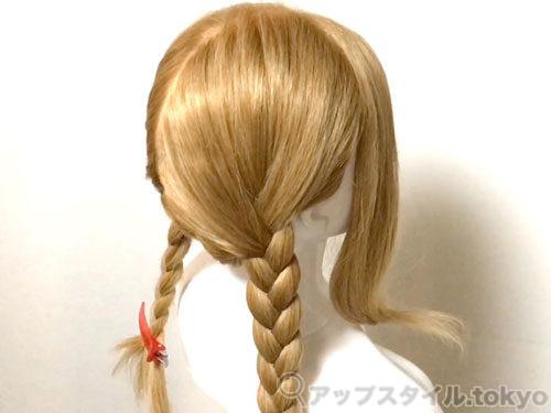 「君の名は。」三葉(みつは)の髪型・ヘアアレンジの作り方4