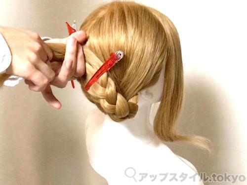 「君の名は。」三葉(みつは)の髪型・ヘアアレンジの作り方5