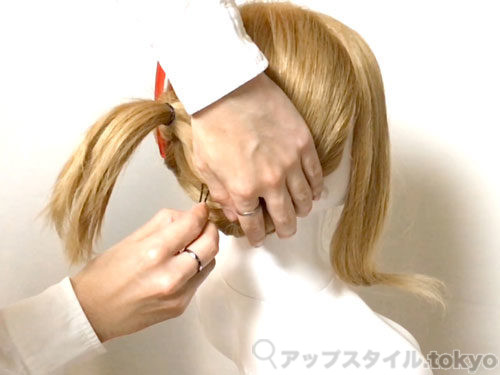 「君の名は。」三葉(みつは)の髪型・ヘアアレンジの作り方6