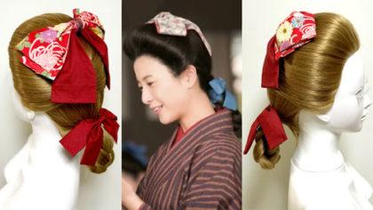 【卒業式・髪型】ハイカラ女学生風レトロな「マガレイト」風アレンジ